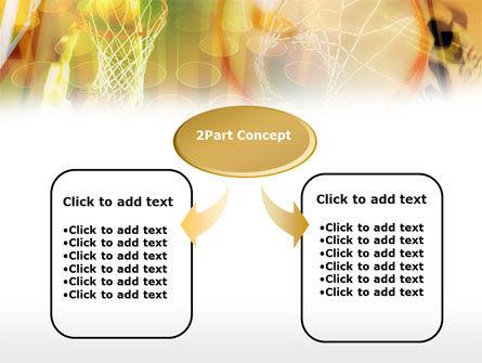 Basketball Dunk PowerPoint Template Slide 4