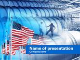 Utilities/Industrial: 我们石油储量PowerPoint模板 #00597