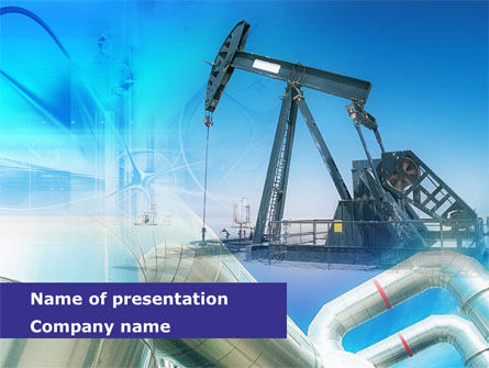 Utilities/Industrial: Oil Industry PowerPoint Template #00600