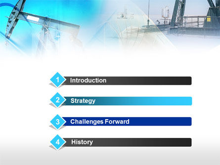 Oil Industry PowerPoint Template Slide 3