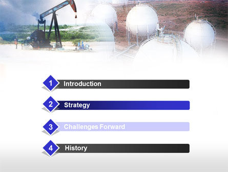 Oil Storage PowerPoint Template, Slide 3, 00601, Utilities/Industrial — PoweredTemplate.com