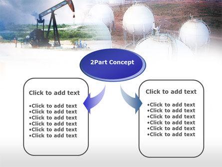Oil Storage PowerPoint Template, Slide 4, 00601, Utilities/Industrial — PoweredTemplate.com