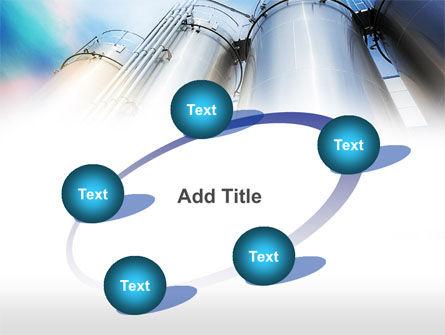 Oil Tank PowerPoint Template Slide 14