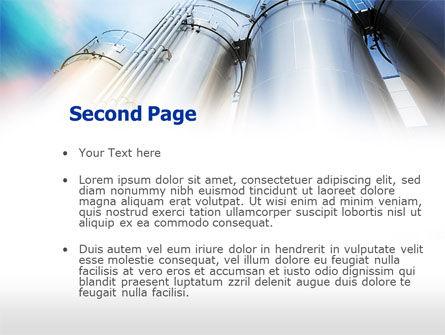 Oil Tank PowerPoint Template Slide 2