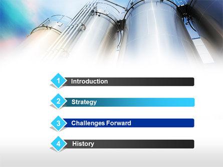 Oil Tank PowerPoint Template Slide 3