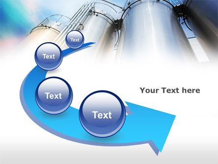 Oil Tank PowerPoint Template Slide 6