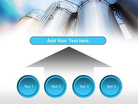 Oil Tank PowerPoint Template Slide 8