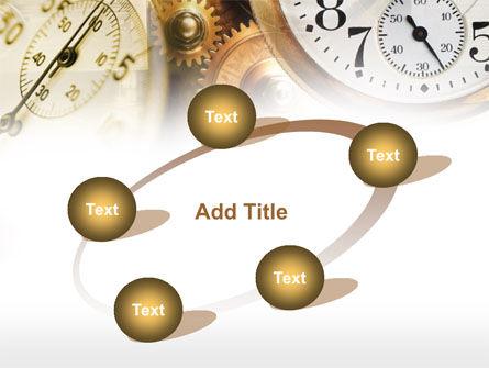 Clock Mechanism PowerPoint Template Slide 14