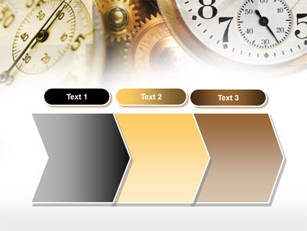 Clock Mechanism PowerPoint Template Slide 16