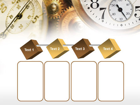 Clock Mechanism PowerPoint Template Slide 18