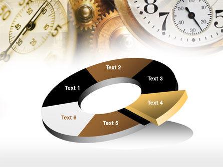 Clock Mechanism PowerPoint Template Slide 19