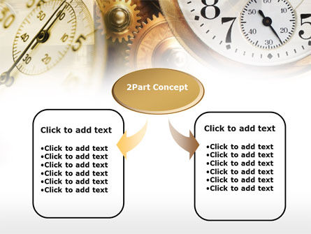 Clock Mechanism PowerPoint Template, Slide 4, 00603, Business Concepts — PoweredTemplate.com