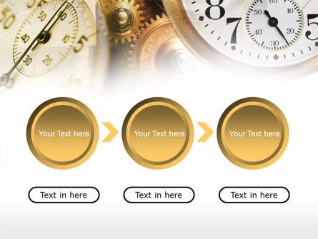 Clock Mechanism PowerPoint Template Slide 5