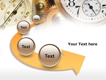 Clock Mechanism PowerPoint Template Slide 6