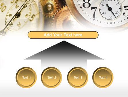 Clock Mechanism PowerPoint Template Slide 8