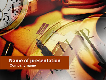 Business Timing And Planning PowerPoint Template