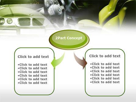 Luxury Sedan PowerPoint Template, Slide 4, 00607, Cars and Transportation — PoweredTemplate.com