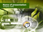 Luxury Sedan PowerPoint Template#1