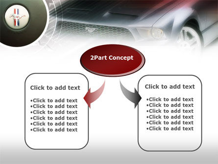 Muscle Car PowerPoint Template, Slide 4, 00608, Cars and Transportation — PoweredTemplate.com