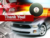 Muscle Car PowerPoint Template#20