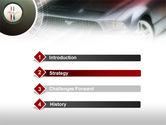 Muscle Car PowerPoint Template#3