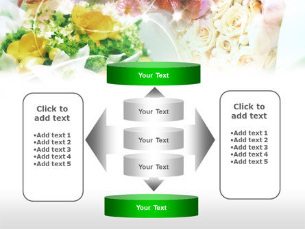 Flower Arranging Ideas PowerPoint Template Slide 13
