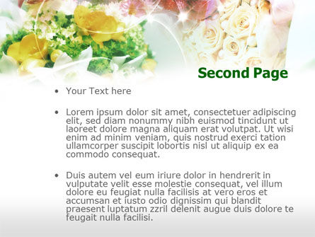 Flower Arranging Ideas PowerPoint Template Slide 2