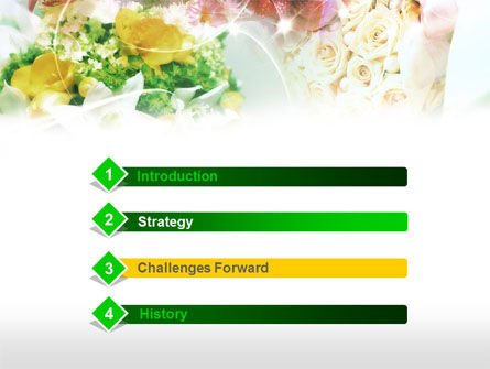 Flower Arranging Ideas PowerPoint Template Slide 3
