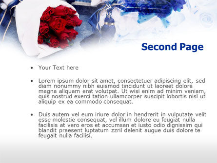 Flower Arrangement PowerPoint Template Slide 2