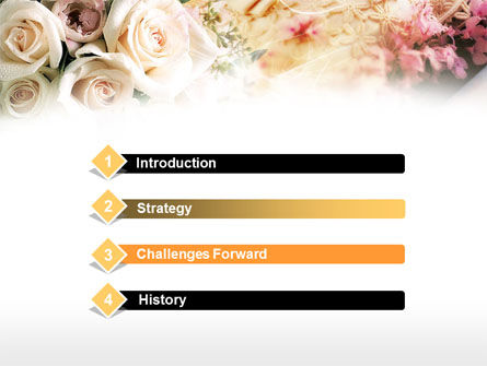 Wedding Preparation PowerPoint Template, Slide 3, 00614, Holiday/Special Occasion — PoweredTemplate.com