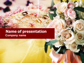 Holiday/Special Occasion: Wedding Preparation PowerPoint Template #00614