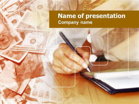 Financial Accounting PowerPoint Template, 00618, Financial/Accounting — PoweredTemplate.com