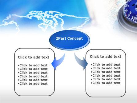 Business Compass PowerPoint Template, Slide 4, 00623, Education & Training — PoweredTemplate.com