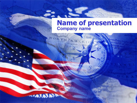 Holiday/Special Occasion: Templat PowerPoint Hari Columbus #00624