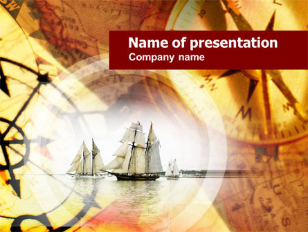 Education & Training: Ancient Ship PowerPoint Template #00625