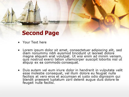 Ancient Ship PowerPoint Template Slide 2