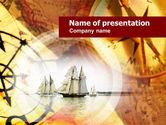 Education & Training: Plantilla de PowerPoint - antigua nave #00625