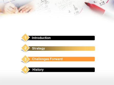 School Tests Results PowerPoint Template, Slide 3, 00627, Education & Training — PoweredTemplate.com
