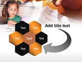 Teaching Visually Impaired Children PowerPoint Template#11