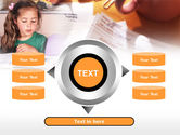 Teaching Visually Impaired Children PowerPoint Template#12