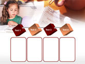 Teaching Visually Impaired Children PowerPoint Template#18