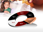 Teaching Visually Impaired Children PowerPoint Template#19