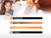 Teaching Visually Impaired Children PowerPoint Template#3