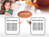 Teaching Visually Impaired Children PowerPoint Template#4