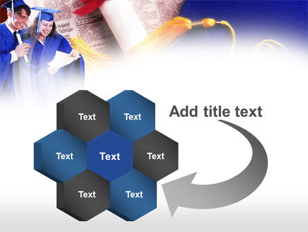 Graduator Students with Diploma PowerPoint Template Slide 11