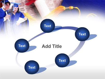 Graduator Students with Diploma PowerPoint Template Slide 14