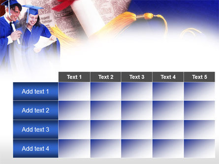 Graduator Students with Diploma PowerPoint Template Slide 15