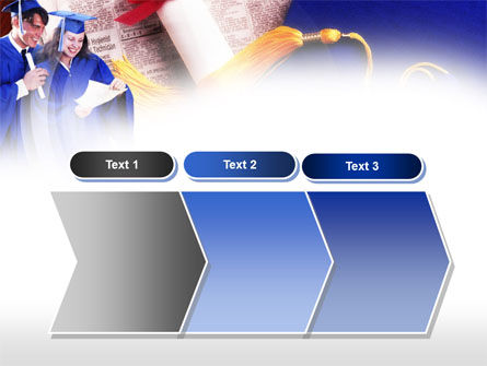 Graduator Students with Diploma PowerPoint Template Slide 16