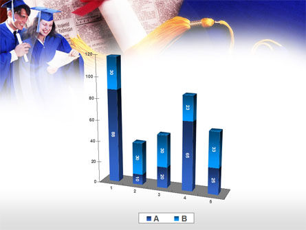 Graduator Students with Diploma PowerPoint Template Slide 17