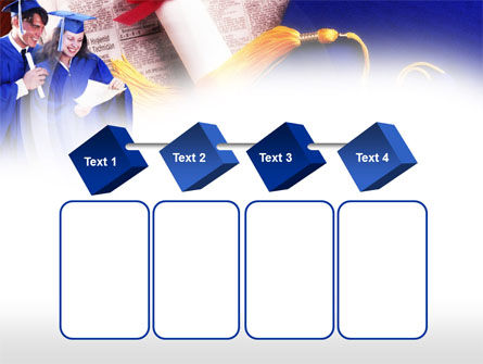 Graduator Students with Diploma PowerPoint Template Slide 18